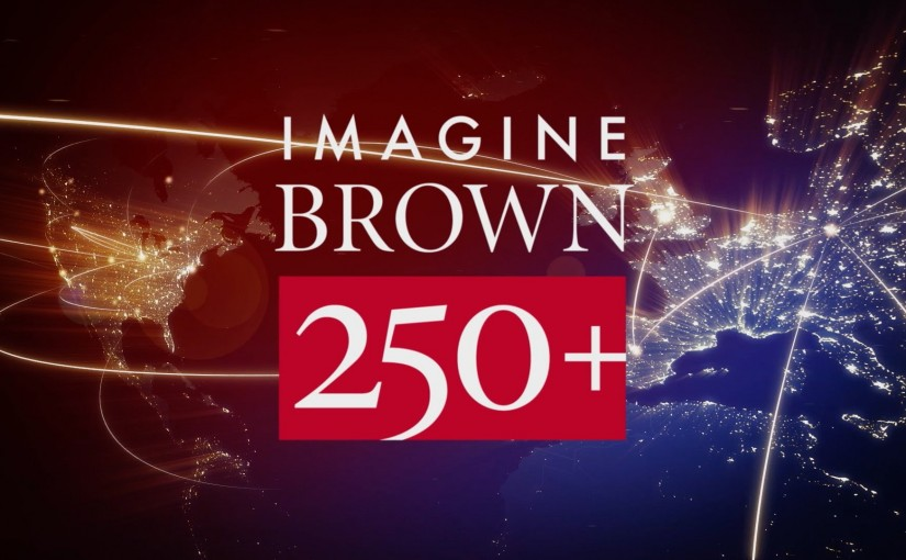 Celebrating Imagine 250+ at Brown University