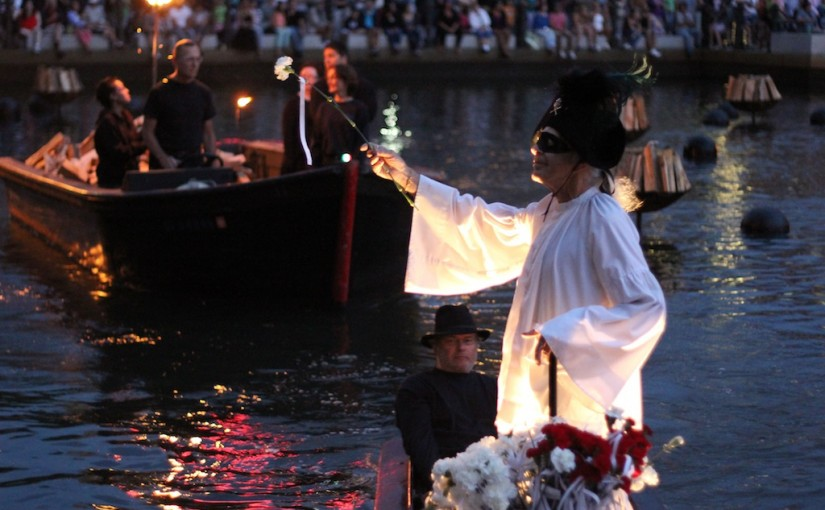Directing WaterFire Providence | The Phantom Boatman | The Living History of Rhode Island