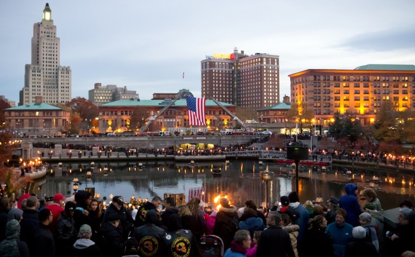 PVD International Arts Festival Wrap Up with Mayor Jorge Elorza | The Providence VA and the WaterFire Salute to Veterans