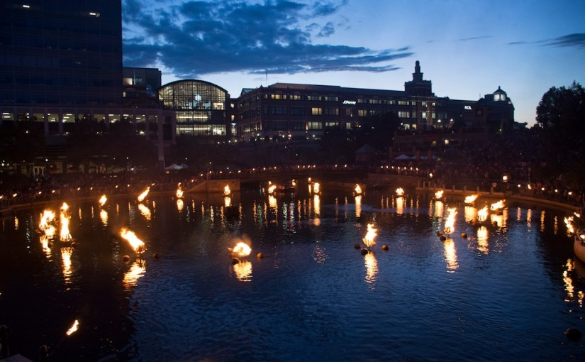 Chatting with AARP | WaterFire's FireBall