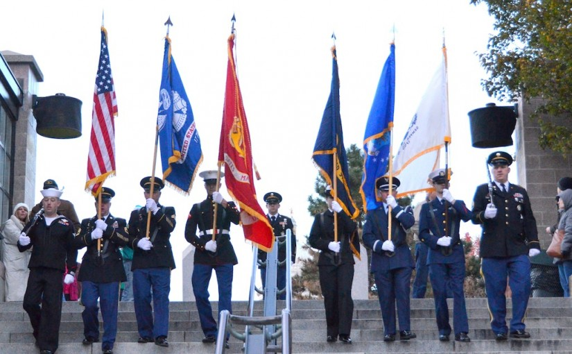 Gearing up for the 2015 WaterFire Salute to Veterans