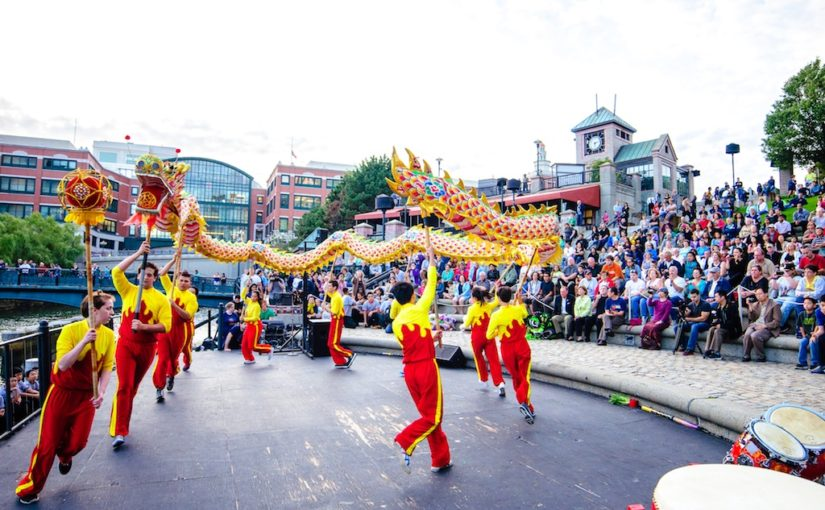 Bryant University U.S. China Institute and Confucius Institute | WaterFire Salute to RI Educators