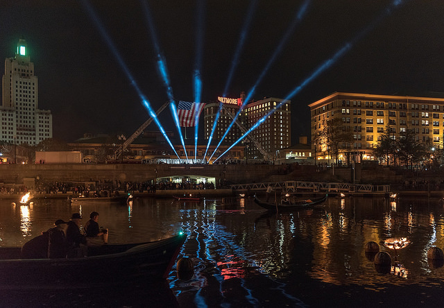 Halloween with Ten31 Productions | ESGR at the WaterFire Salute to Veterans