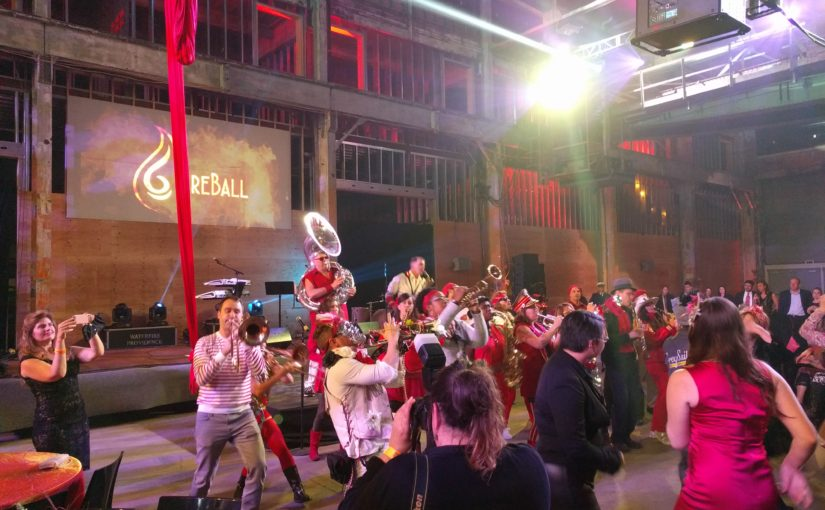 The FireBall | The Extraordinary Rendition Band | TRAC Builders