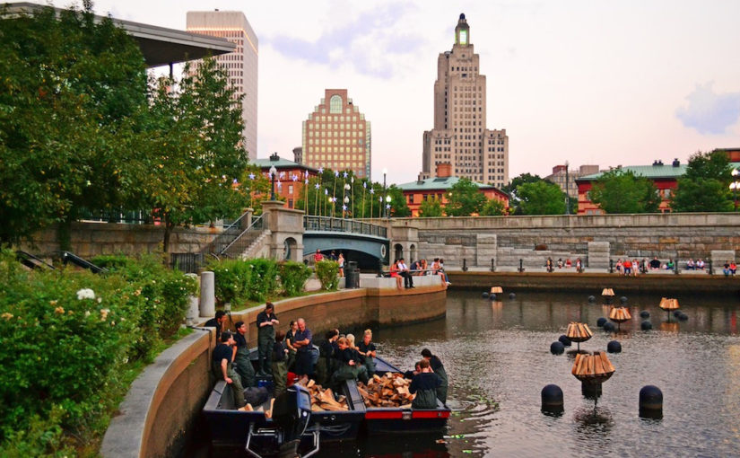 National Grid and WaterFire | Volunteering at WaterFire